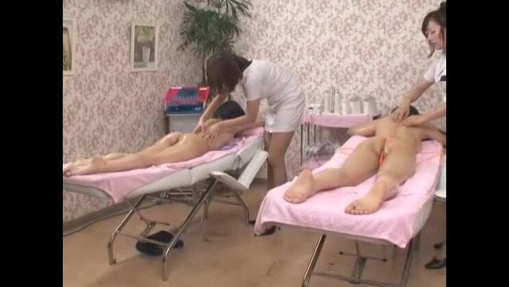 Hottest Japanese whore Saki Tsuji, Yuka Osawa, Noa in Crazy Close-up, Lingerie JAV scene
