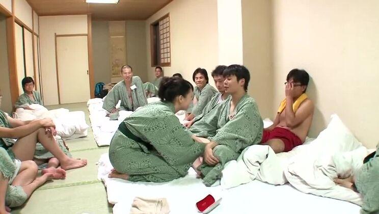 帰ってきた竹内あいファン感謝祭 素人男性増員21名!420分拡大版!夢の大乱交ツアー part.5