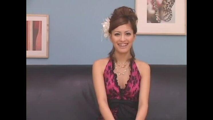 Exotic Japanese whore Yuki Asada in Crazy Gangbang, Facial JAV video