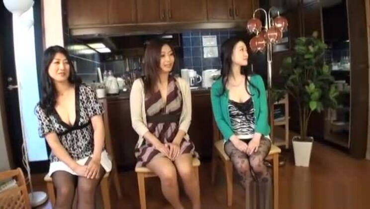 Naughty Asian Milfs Enjoy Face Sitting Pussy Licks