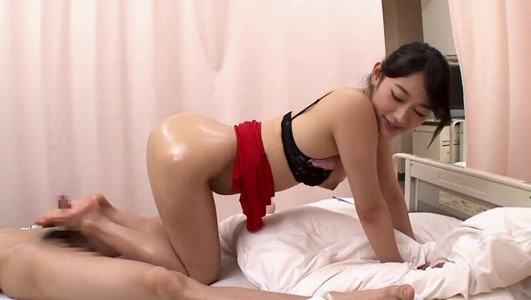 Crazy Japanese girl in Best Footjob, HD JAV video