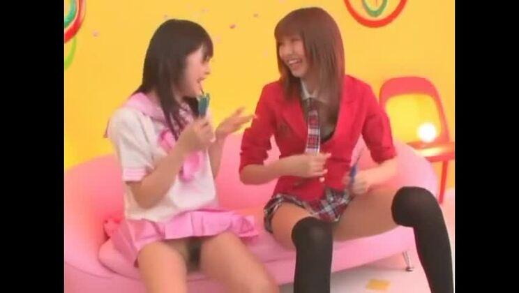 Horny Japanese girl Kotone Aisaki, Mei Itoya in Fabulous Close-up, Fetish JAV clip