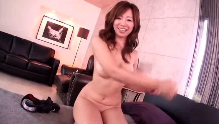 Ambrosial busty Japanese MILF Kaori in ultra glam fetish fun