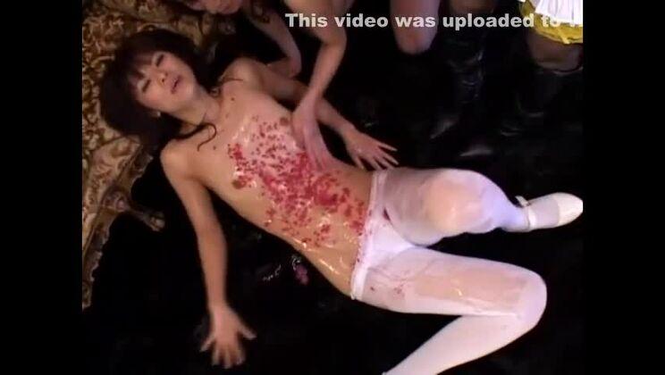 Crazy Japanese whore Erin Tohno, Rei Kitajima, Rimu Himeno in Amazing Fingering, Lingerie JAV clip