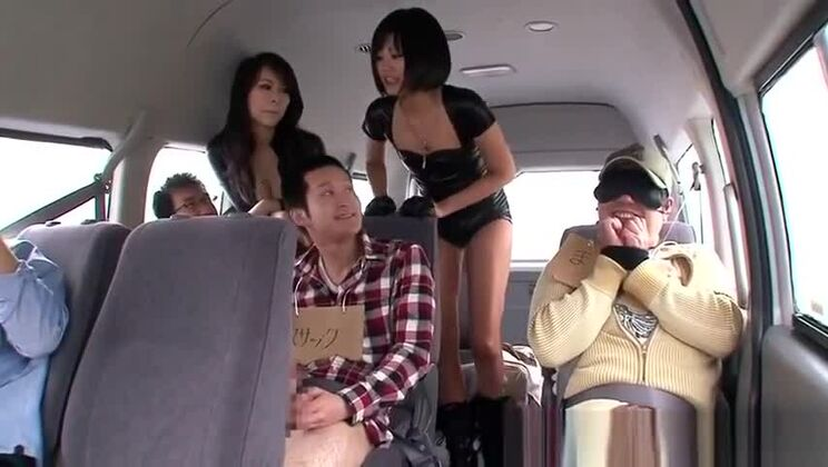 A Ride In The Car Turns Into A Fuck Palace For These Girls
