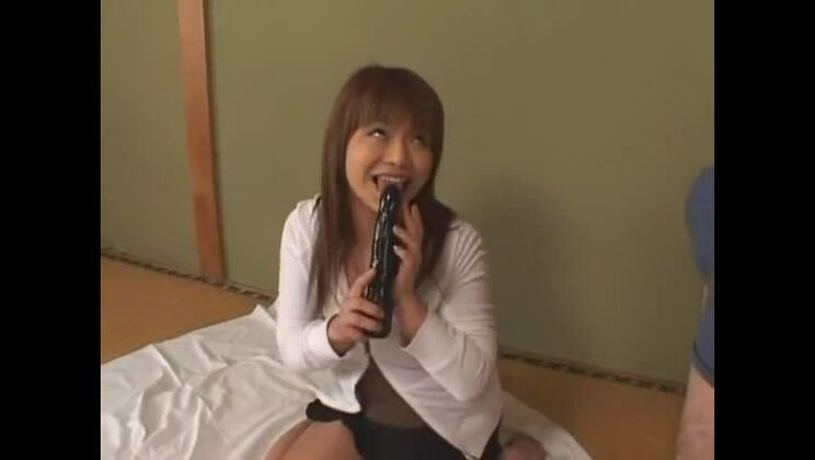 Crazy Japanese girl Moe Oishi, Tina Yuzuki, Noa in Horny Toys, Blowjob JAV scene