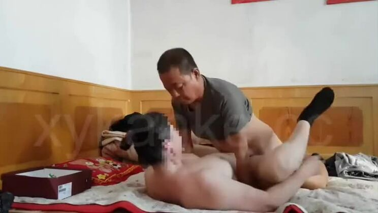 Chinese old Man Sex.