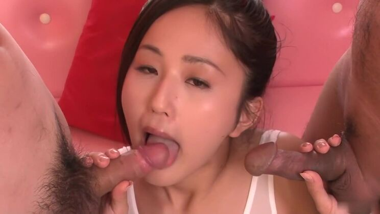 Best Japanese girl Ai Wakana in Crazy JAV uncensored Cumshots video
