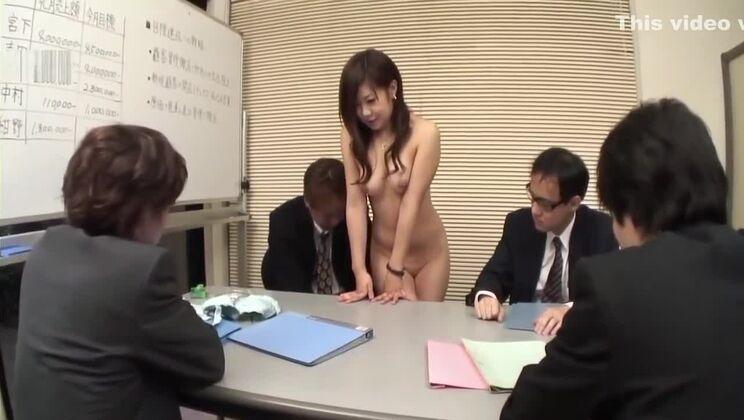 JAPANESE SECRETARY EXPOSED IN OFFICE