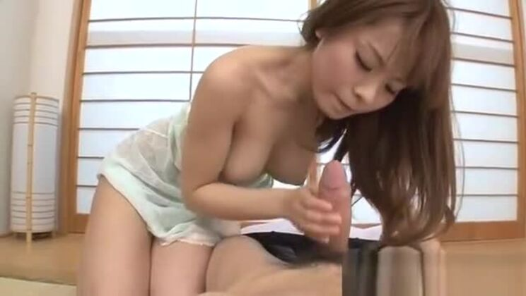 Two stud on one hot milf