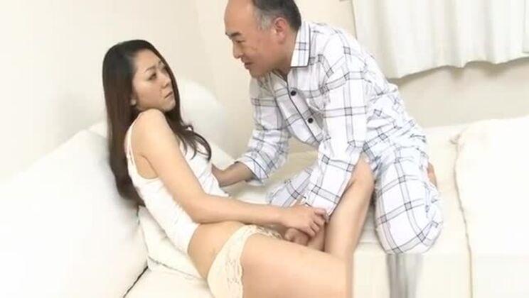 Sexy milf fondles herself